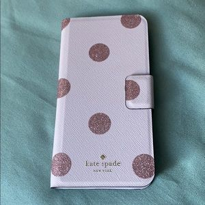 Kate Spade wallet type iPhone cover.